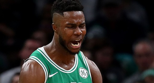 Which direction will the medicine ball bounce for Semi Ojeleye this summer?