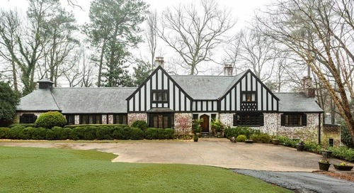 Discounted 1940s Tudor estate in Buckhead now floated as a possible teardown