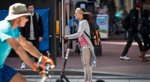 Responding to nighttime e-scooter ban, mobility protest will 'put car to bed'—literally