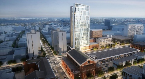 Huntington Avenue development adds two residential floors
