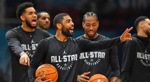 Kyrie unplugged: Irving sounds off on media