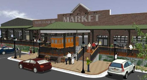 Trend of adaptive-reuse food halls in Atlanta suburbs shows few signs of slowing