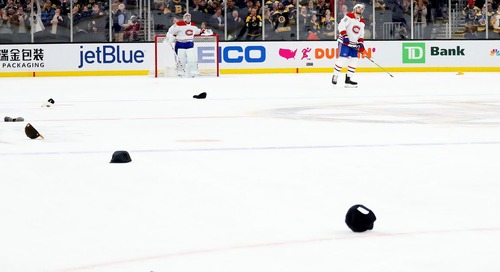 Recap: Pastrnak's hat trick leads the Bruins to another win over Montreal