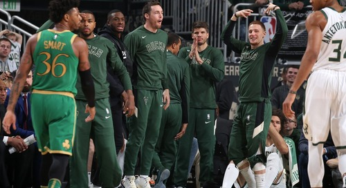 Boston Celtics fall to Milwaukee Bucks 128-123