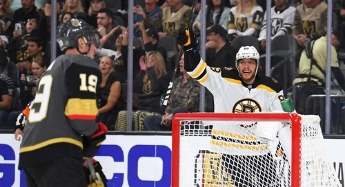 Projected Lines: Golden Knights at Bruins