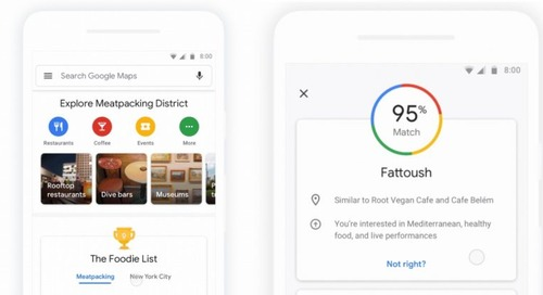 Google Maps aims to dethrone Yelp with its latest update