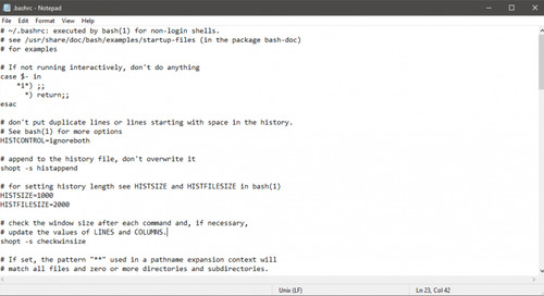Notepad now properly displays textfiles created on Unix systems