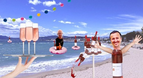 Join us for a glass of rosé during Afterhours Cannes
