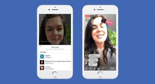 Facebook copies Musical.ly's lip syncing functionality for live video