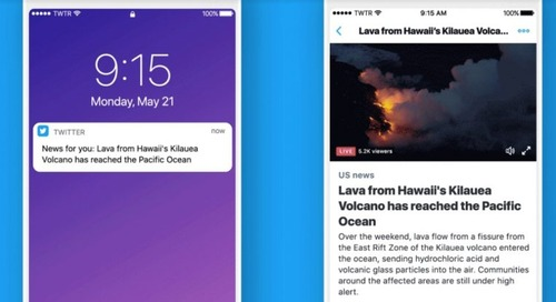 Twitter wants to send you personalized news notifications