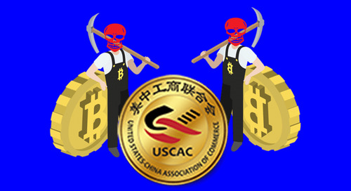 The US-China Association of Commerce site is running cryptocurrency mining malware