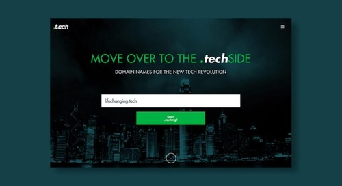Stake out a .tech web domain for a decade at less than $4 a year