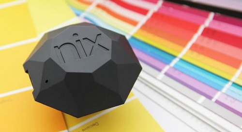 The Nix Mini Color Sensor is the designer's best friend…and now it's 30% off