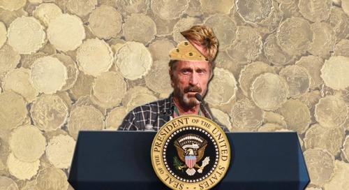 John McAfee announces bid for 2020 US presidential election