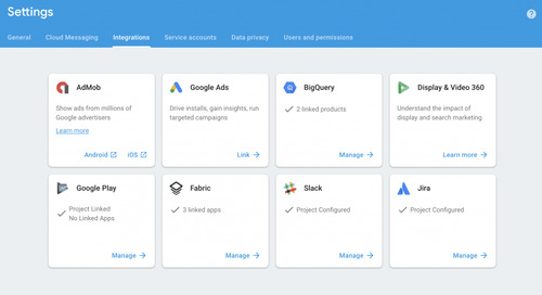 Google's Firebase adds in-app messaging and new Crashlytics integrations