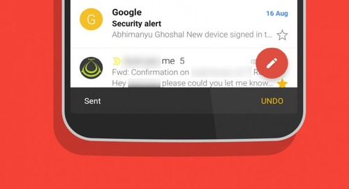 Gmail now lets you Undo sent messages on Android – but you only get 10 seconds