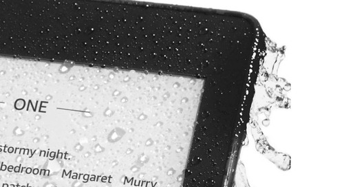 Amazon debuts the new, waterproof Kindle Paperwhite