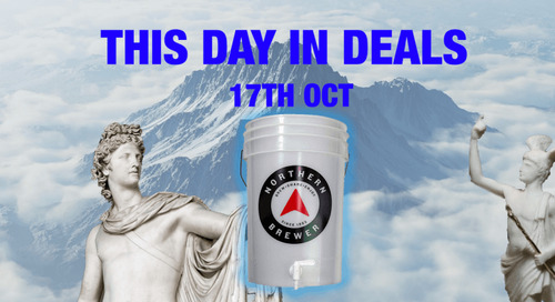This Day In Deals: A brew kit to stop beer floods