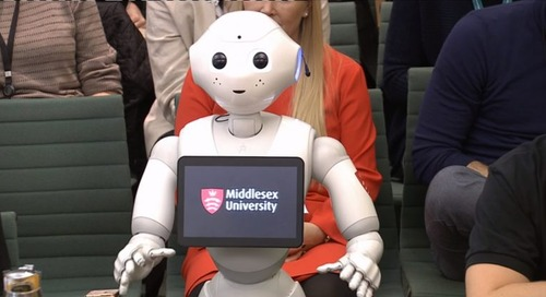 UK puts on misleading robot puppet-show in Parliament