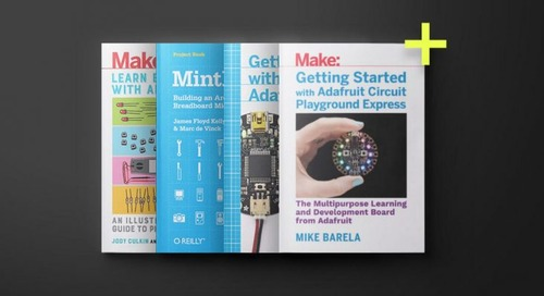 Get 15 Arduino eBooks of the coolest DIY electronics projects from Make: for $19.99