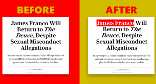 Celebrities accused of harassment won't be forgotten, thanks to this Chrome extension