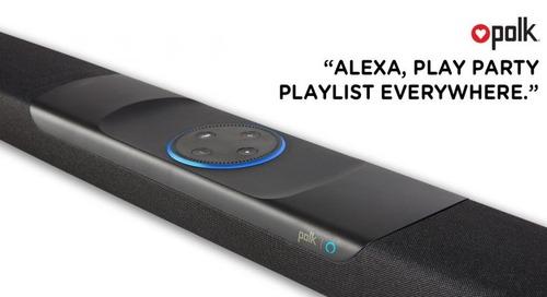 Polk's Alexa-enabled soundbar now supports multi-room music