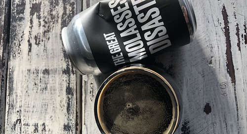 Drink This Now: The Great Molasses Disaster by Backlash Beer