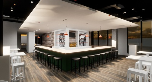 A European Food Hall-Inspired Restaurant Is about to Open Downtown