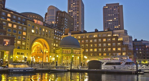 Boston Harbor Hotel Will Have a Local Beer Garden at Rowes Wharf