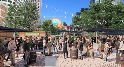 City Winery on the Greenway Will Be an Outdoor Wine Garden for Boston
