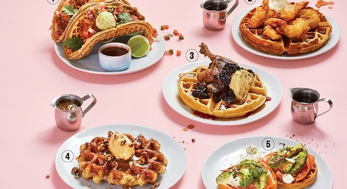 Five Innovative Waffle Dishes for Your Weekend Brunch Fix