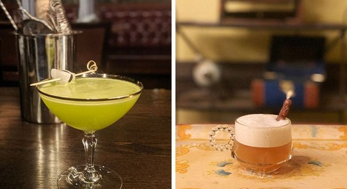 An Eclectic, Global Cocktail Bar Pops Up at the Merchant