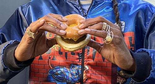 Snoop Dogg Made a Glazed Donut Breakfast Sandwich at Dunkin' and We Tried It