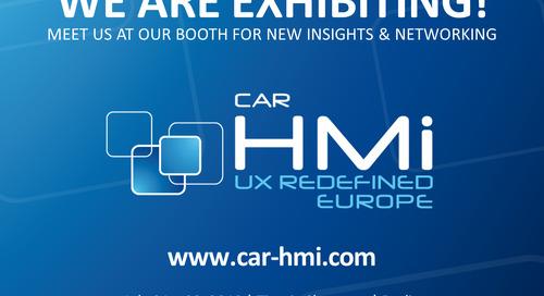 Car HMi UX Redefined 2019  - Jul 1, 2019