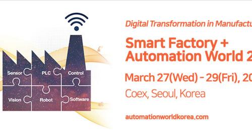 Smart Factory + Automation World 2019 - Mar 27, 2019