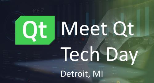 Meet Qt Detroit, Tech Day - Dec 12, 2019