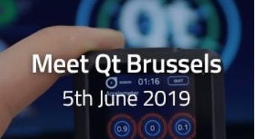 Meet Qt Brussels  - Jun 5, 2019
