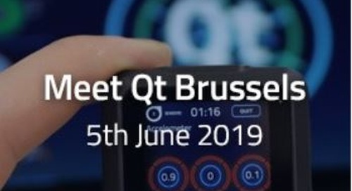 Meet Qt Brussels  - Jun 5, 2019