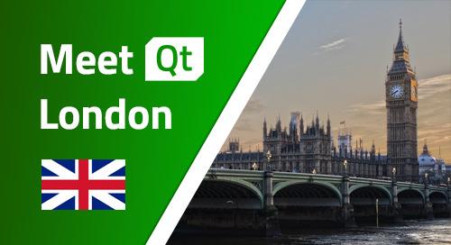Meet Qt London  - Mar 12, 2020