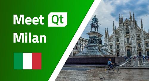 Meet Qt Milan - Apr 1, 2020