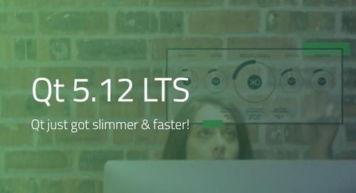 立即下载、试用最新版本Qt 5.12 LTS!