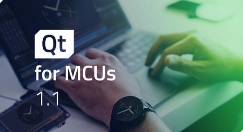 博文 | Qt for MCUs 1.1发布