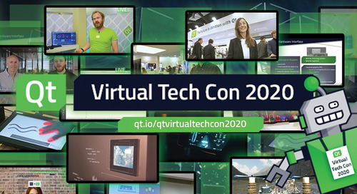Qt Virtual Tech Con Webinars