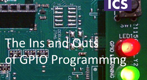 The Ins and Outs of GPIO Programming - Feb 6, 2020