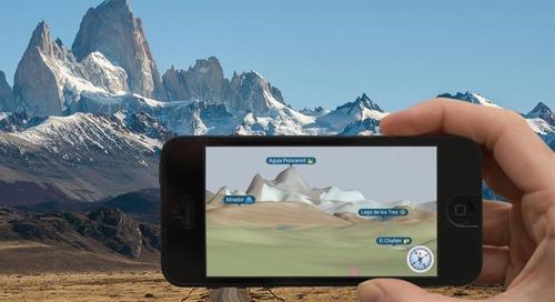 Built with Qt | eyeMaps - 增强现实3D地图应用