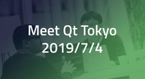 [無料セミナー] Meet Qt Tokyo - Jul 4, 2019