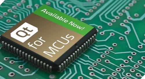 Qt for MCUs —— 立即下载演示、申请测评