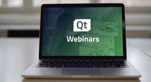 视频 | Qt Quick 与 Qt Widgets 适用场景及技术分析 (网络研讨会)
