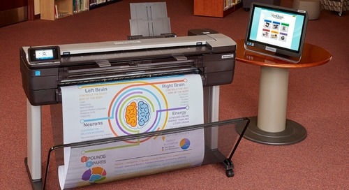"""Introducing the VariQuest Perfecta 3600STP - 36"""" Full Color Poster Design System"""