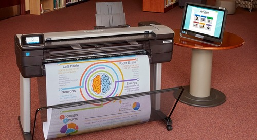 "Introducing the VariQuest Perfecta 3600STP - 36"" Full Color Poster Design System"